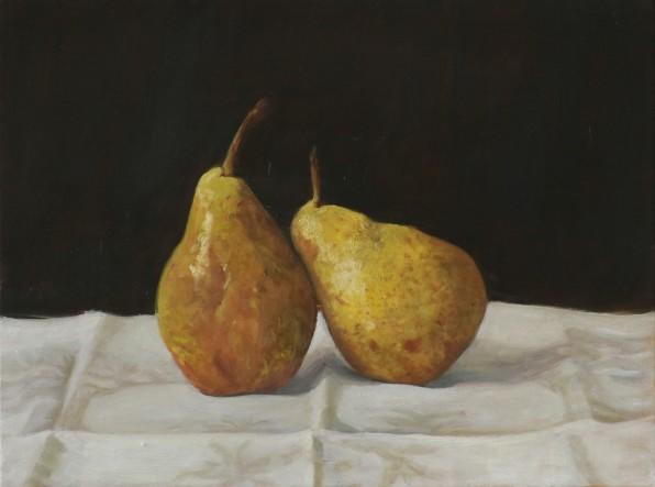 Pears-oil-on-linen-30x40cm