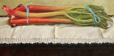 Rhubarb with String