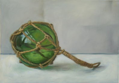 Still Life with Green Glass Float